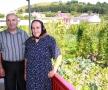 Sora Anuța și cumnatul Ion Pop, vara 2012