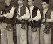 Patru maramureșeni la Apșa de Mijloc, a. 1952(al treilea din stânga Ion Moiș)