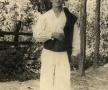Student la anul 4 al Institutului de medicină.  Apșa de Mijloc, a. 1956