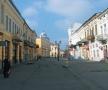 Strada principală din Botoșani pe care micuțul Mihai a făcut primii pași spre veșnicie...