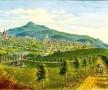 Vedere generală a Cernăuţiului pe timpul copilăriei lui Eminescu, 1860