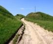 În drum pe Jgheab, spre vârful Țiglău, Sinești,